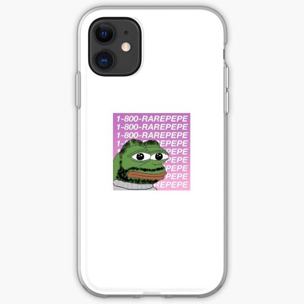 1-800 RAREPEPE iPhone Soft Case