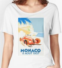 Grand Prix Monaco 1937 Women's Relaxed Fit T-Shirt