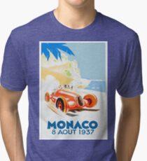 Grand Prix Monaco 1937 Tri-blend T-Shirt