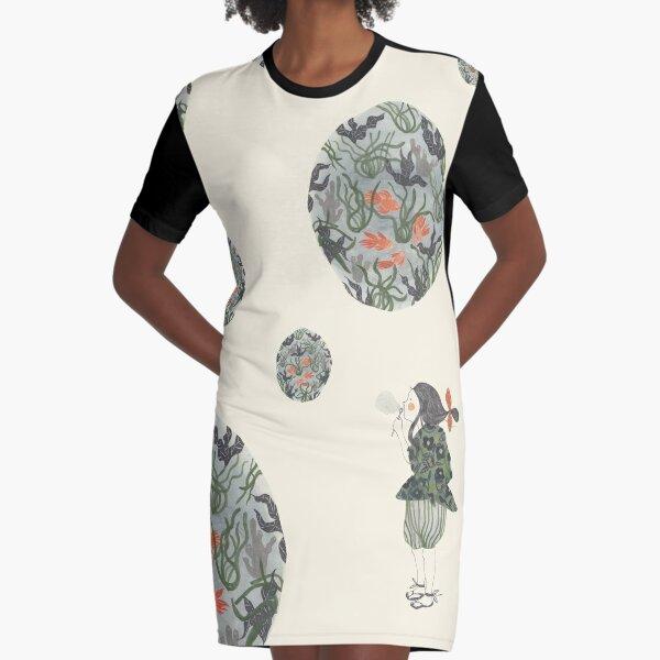 Soap bubbles Graphic T-Shirt Dress