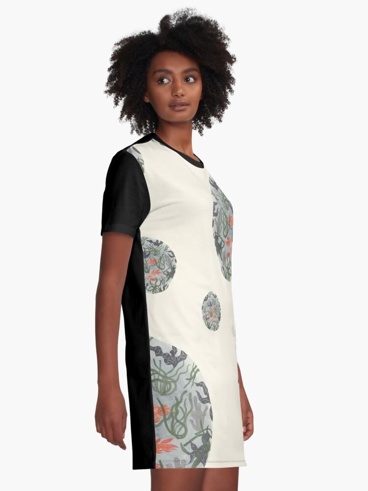 Alternate view of Soap bubbles Graphic T-Shirt Dress