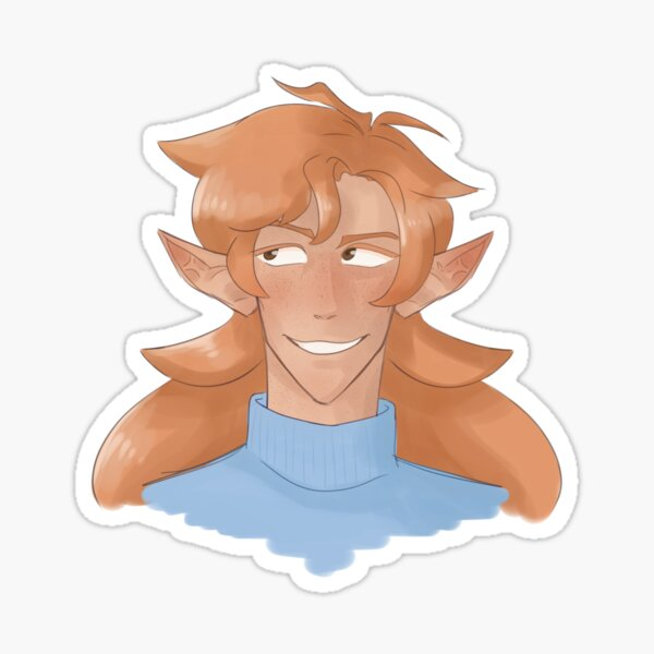 Flowerboy Sticker