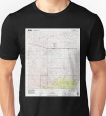 USGS TOPO Map Arizona AZ Mescal 312331 1996 24000 Unisex T-Shirt
