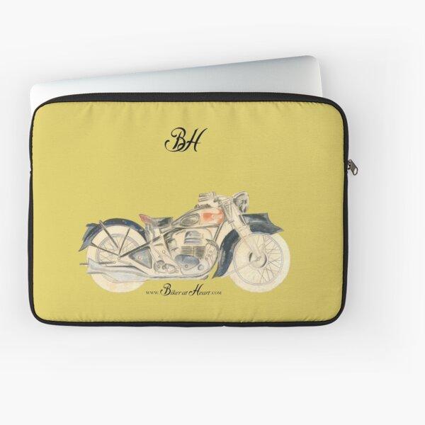 Vintage Motorbike Laptop Sleeve
