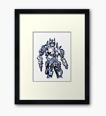 Transformers Optimus Prime Or Orion Pax Graphic Framed Print