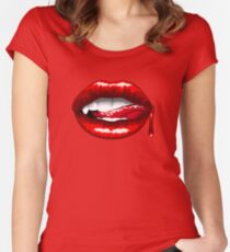 Bloody Bites Women's Fitted Scoop T-Shirt