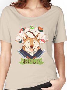 Oishī (Fan variation) Women's Relaxed Fit T-Shirt