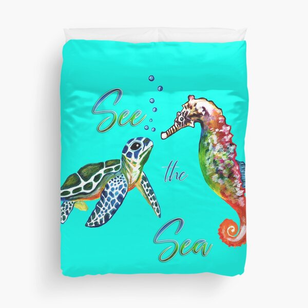 See the Sea Duvet Cover