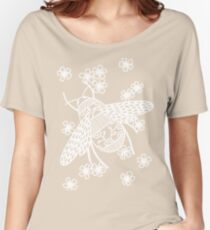 Papercut Bees Women's Relaxed Fit T-Shirt