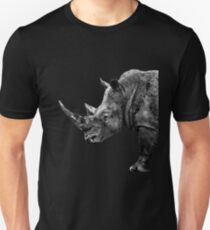 SAFARI PROFILE - RHINO BLACK EDITION Unisex T-Shirt