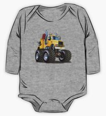 Cartoon Monster Tow Truck One Piece - Long Sleeve