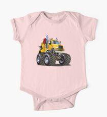 Cartoon Monster Tow Truck Kids Clothes