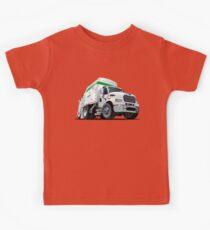 Cartoon Garbage Truck Kids Clothes