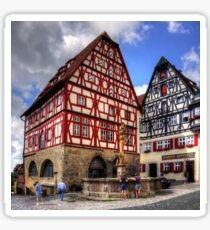 St. George's Fountain Rothenburg Sticker