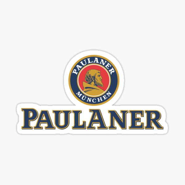 Official Merchandise of Paulaner Brewery Sticker