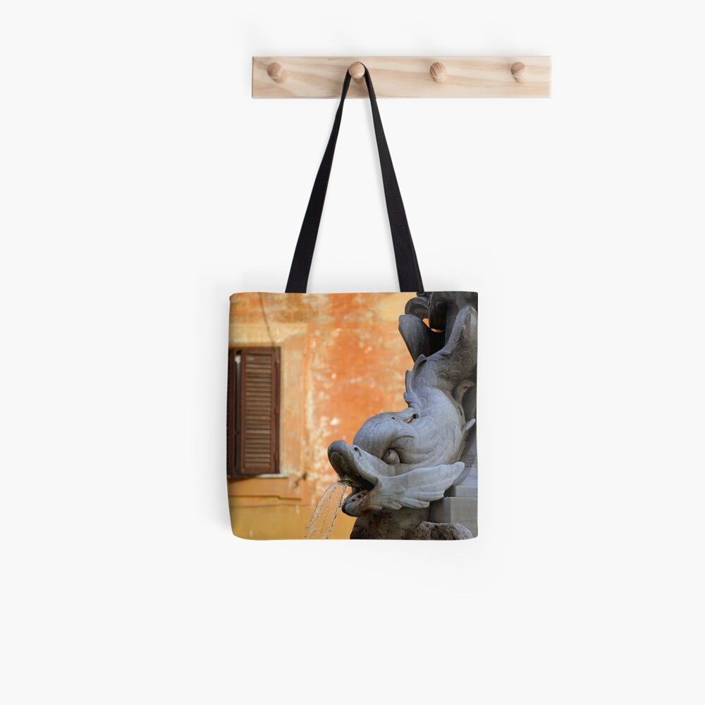 Fishy Roman Tote Bag