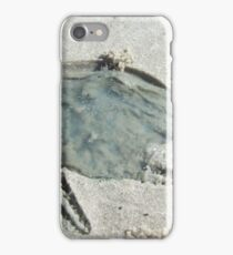 Death of a jellyfish iPhone Case/Skin
