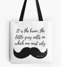 Little Grey Cells Tote Bag