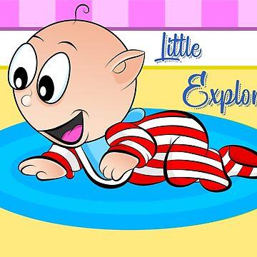 Baby Ollie Little Explorer by Apptronics