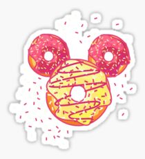 Pop Donut - Strawerry Frosting Sticker