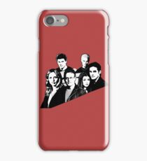 A BTVS motif iPhone Case/Skin