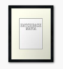 Hatchback mafia Framed Print