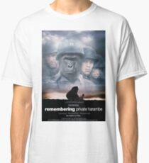 Remembering Private Harambe Classic T-Shirt