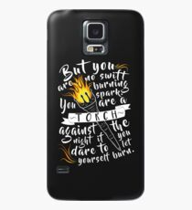 You Are A Torch Against The Night Case/Skin for Samsung Galaxy