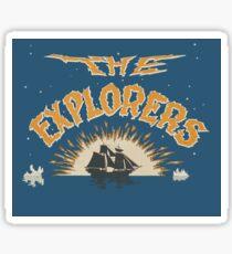 The Explorers Sticker