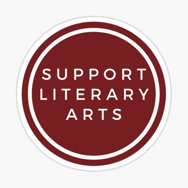 Support Literary Arts Sticker Sticker