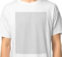 every Twenty One Pilots song/lyric off Self Titled Classic T-Shirt