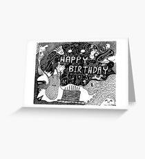 Birthday Celebrations Greeting Card