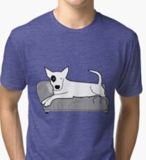 I LOVE MY DOGS_22 Tri-blend T-Shirt