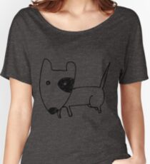 I LOVE MY DOGS_24 Women's Relaxed Fit T-Shirt