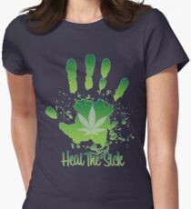Heal the Sick  Womens Fitted T-Shirt