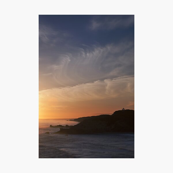 Golden Goodnight Photographic Print