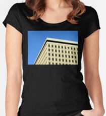 Office Building Fitted Scoop T-Shirt