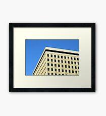 Office Building Framed Print