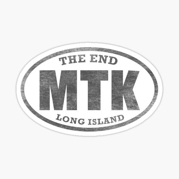 Montauk - The End (black) Sticker