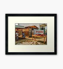 """The Only """"Restaurant"""" Framed Print"""
