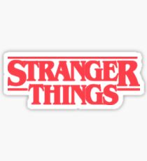 STRANGER THINGS  Sticker