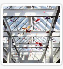 Origami Butterflies Sticker