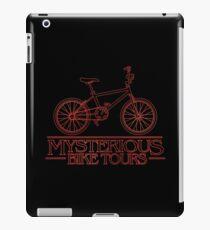 Mysterious Bike Tours iPad Case/Skin