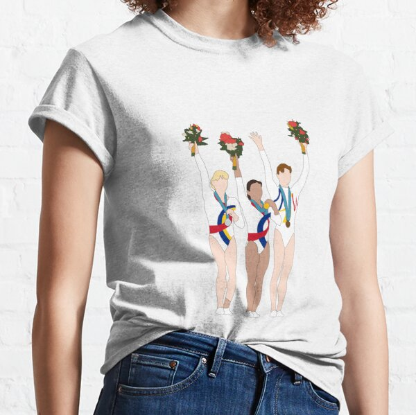 Sydney 2000, Womens Artistic Gymnasts, All Around Podium Classic T-Shirt