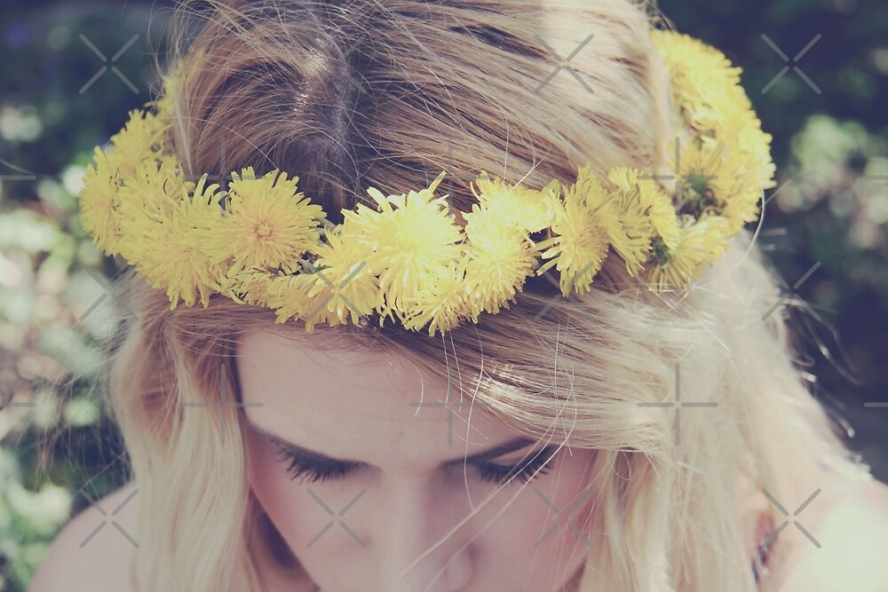 Flower Crown by Ruta Rudminaite