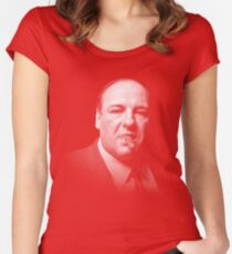 Tony Soprano | The Sopranos Women's Fitted Scoop T-Shirt