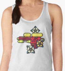 Flowers and watergun Women's Tank Top