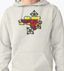 Flowers and watergun Pullover Hoodie