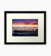 THE SKY-WATCHERS, PORTHLEVEN Framed Print