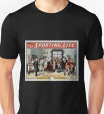Performing Arts Posters Cecil Raleigh Seymour Hicks great English play Sporting life 1013 T-Shirt